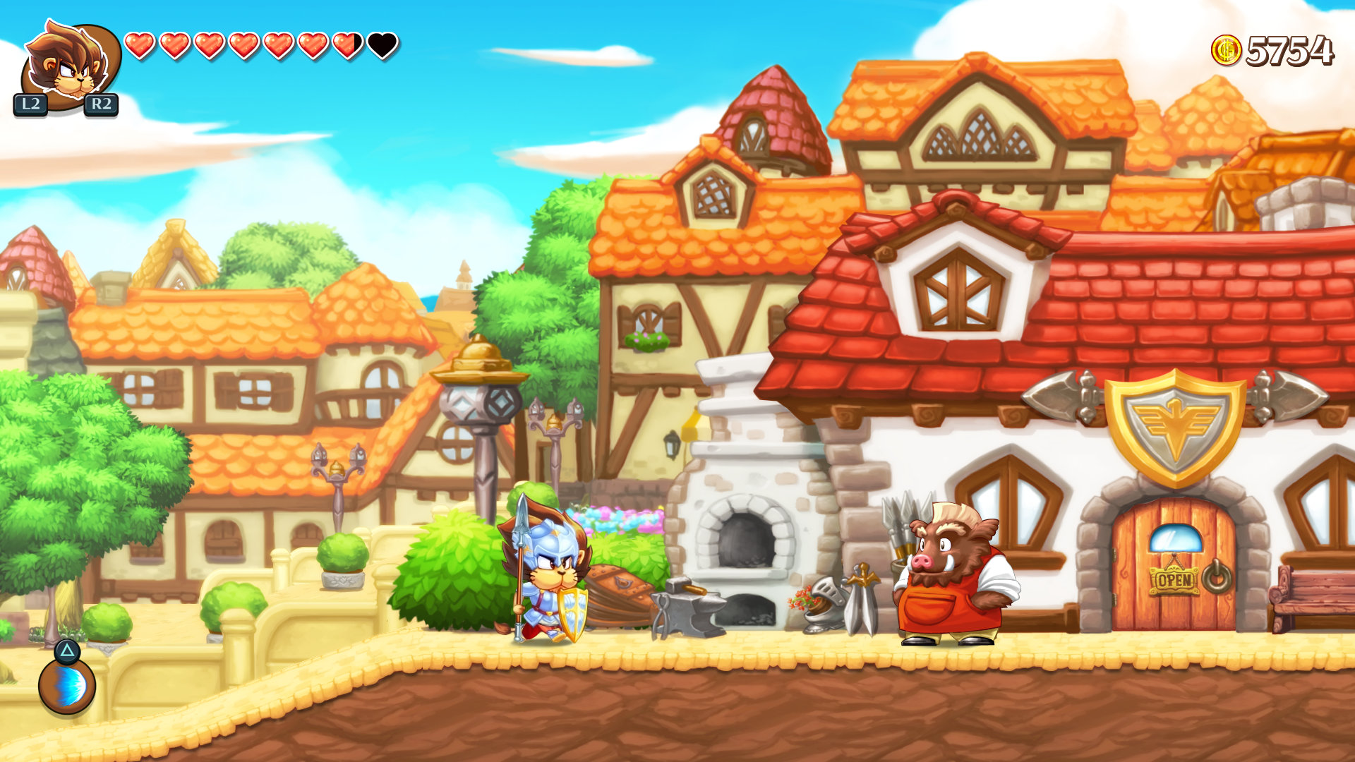 Nintendo Download: Monster Boy and the Cursed Kingdom screenshot