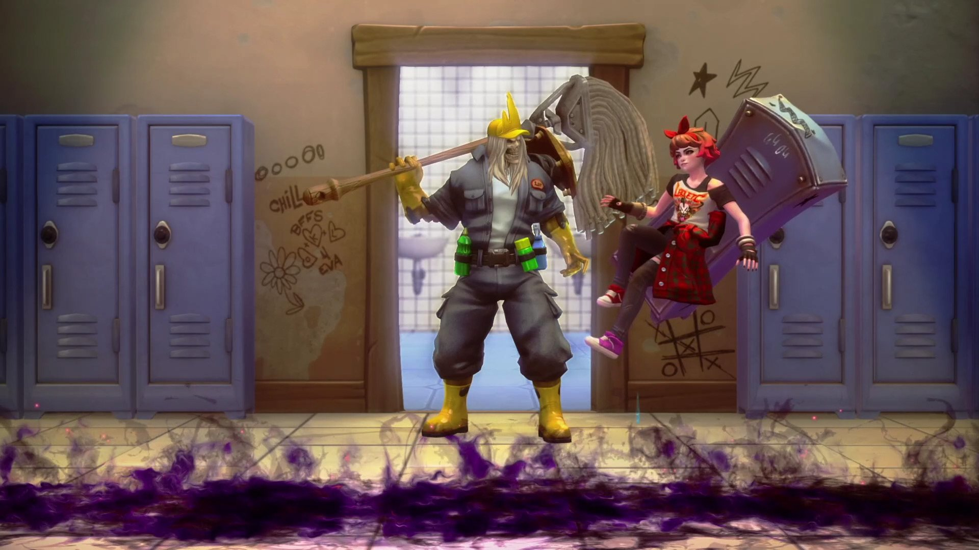 After a fan campaign and months of hope, Heroes of the Storm's Janitor Leoric is finally out screenshot