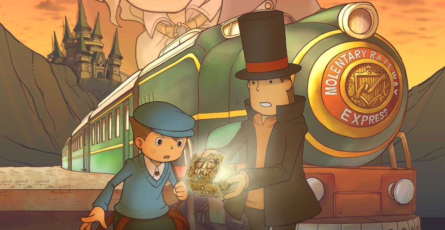 Professor Layton and the Diabolical Box trailer makes me yearn for a Switch port screenshot
