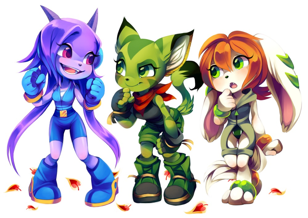 Freedom Planet demo available now on Nintendo Switch