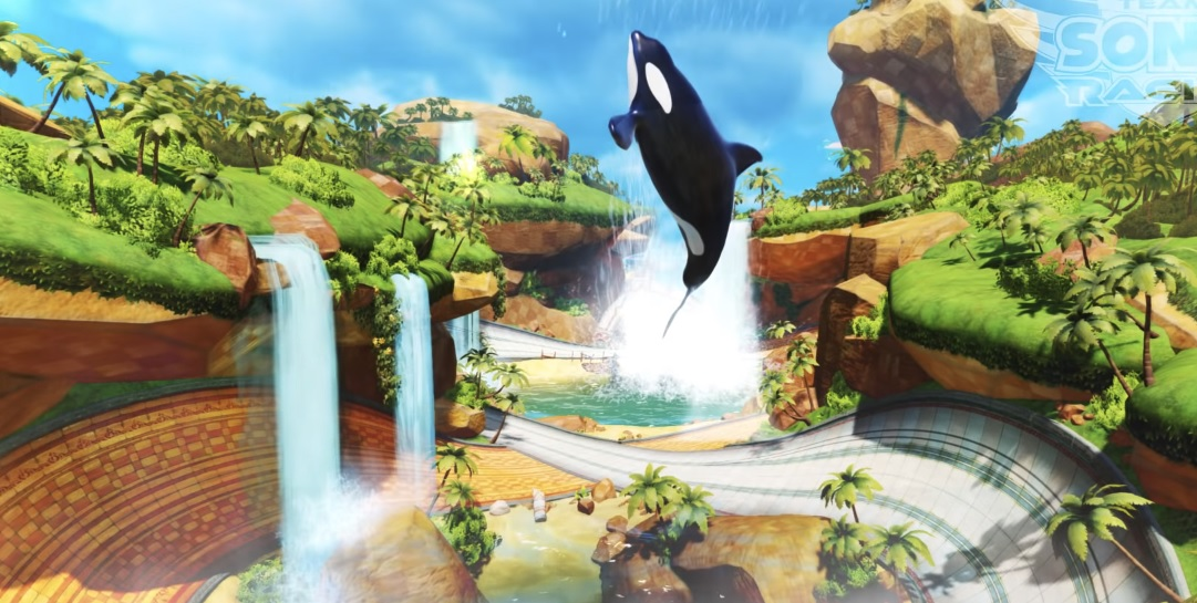 Team Sonic Racing developers unveil Sonic-centric Whale Lagoon map screenshot