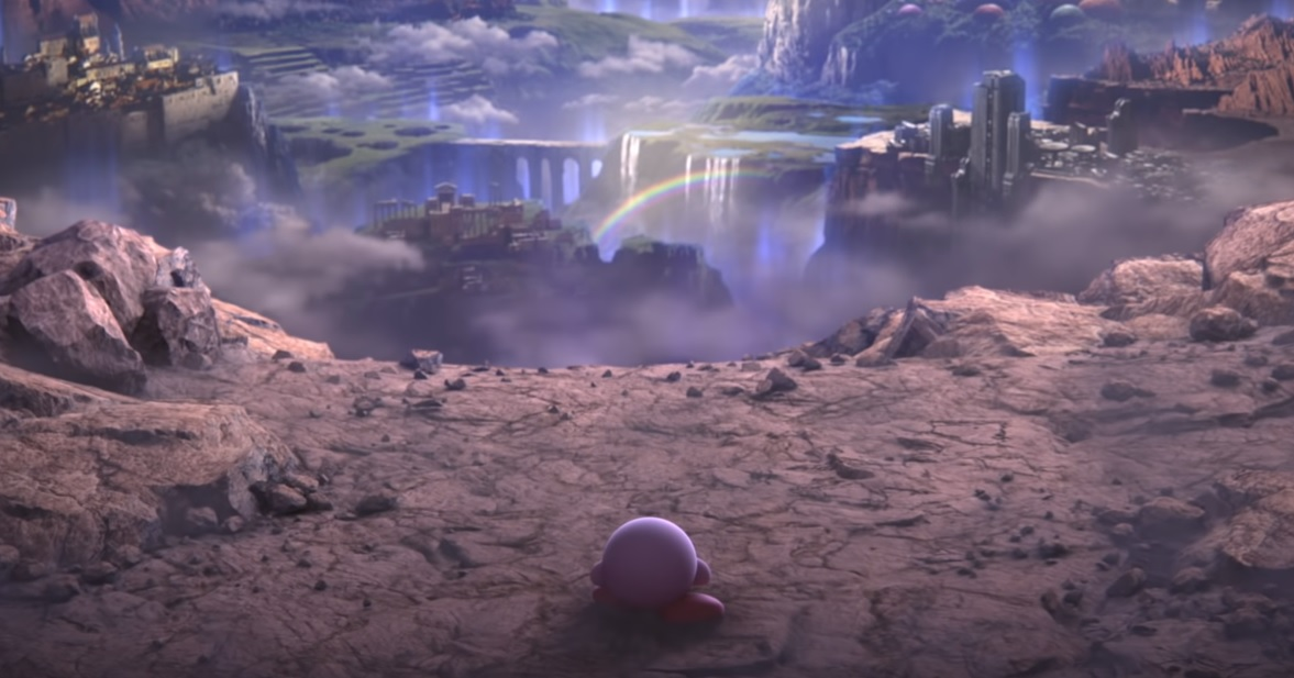 Super Smash Bros. director says there's a practical reason why Kirby survived the apocalypse in the last trailer screenshot