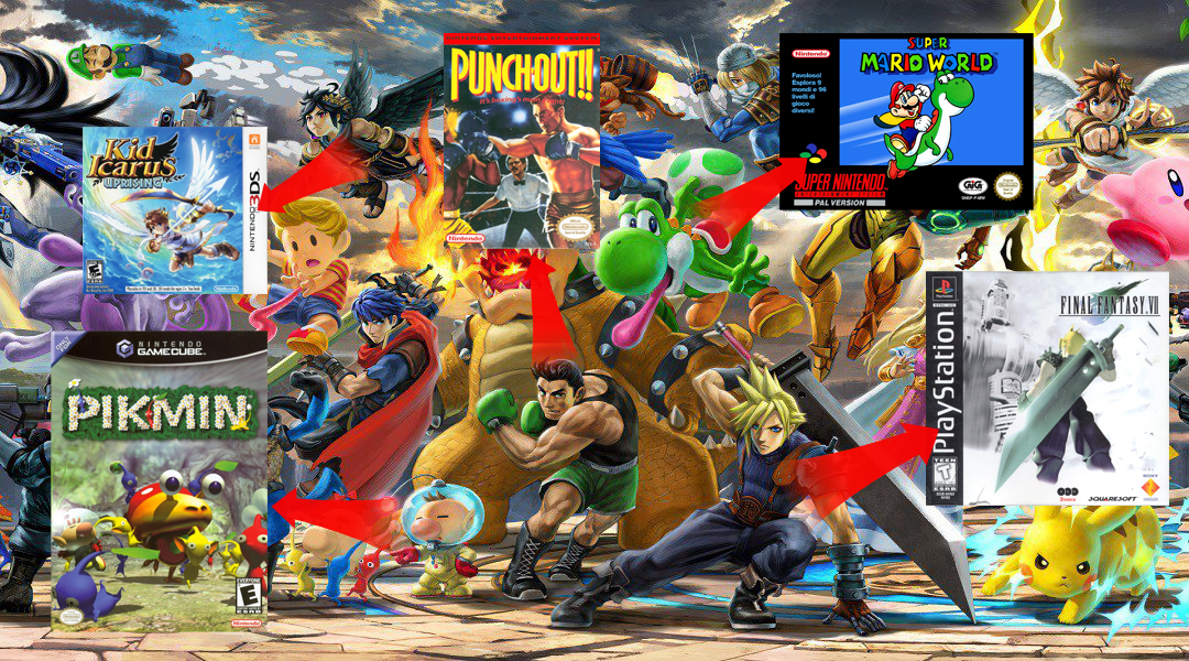 The debut game of every Super Smash Bros. Ultimate fighter, ranked screenshot
