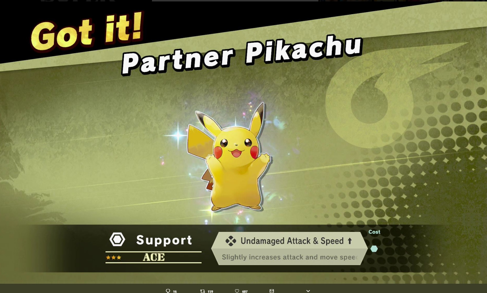 Owning either version of Pokemon Let's Go will give you early Smash Ultimate unlocks screenshot