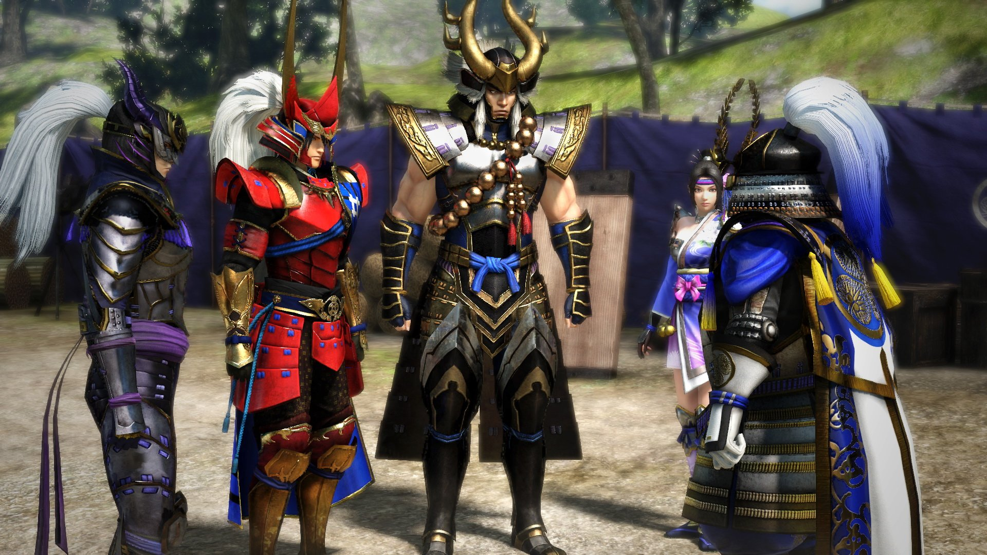 Samurai Warriors 4 DX is heading to PS4 and Switch next March screenshot