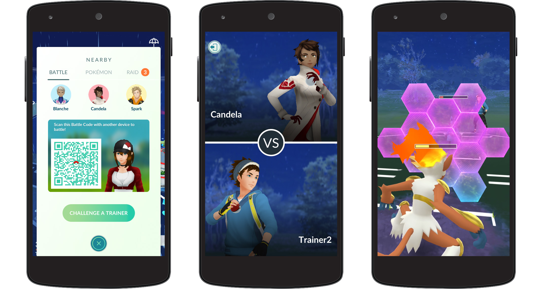 Here's how Trainer Battles work in Pokemon GO screenshot
