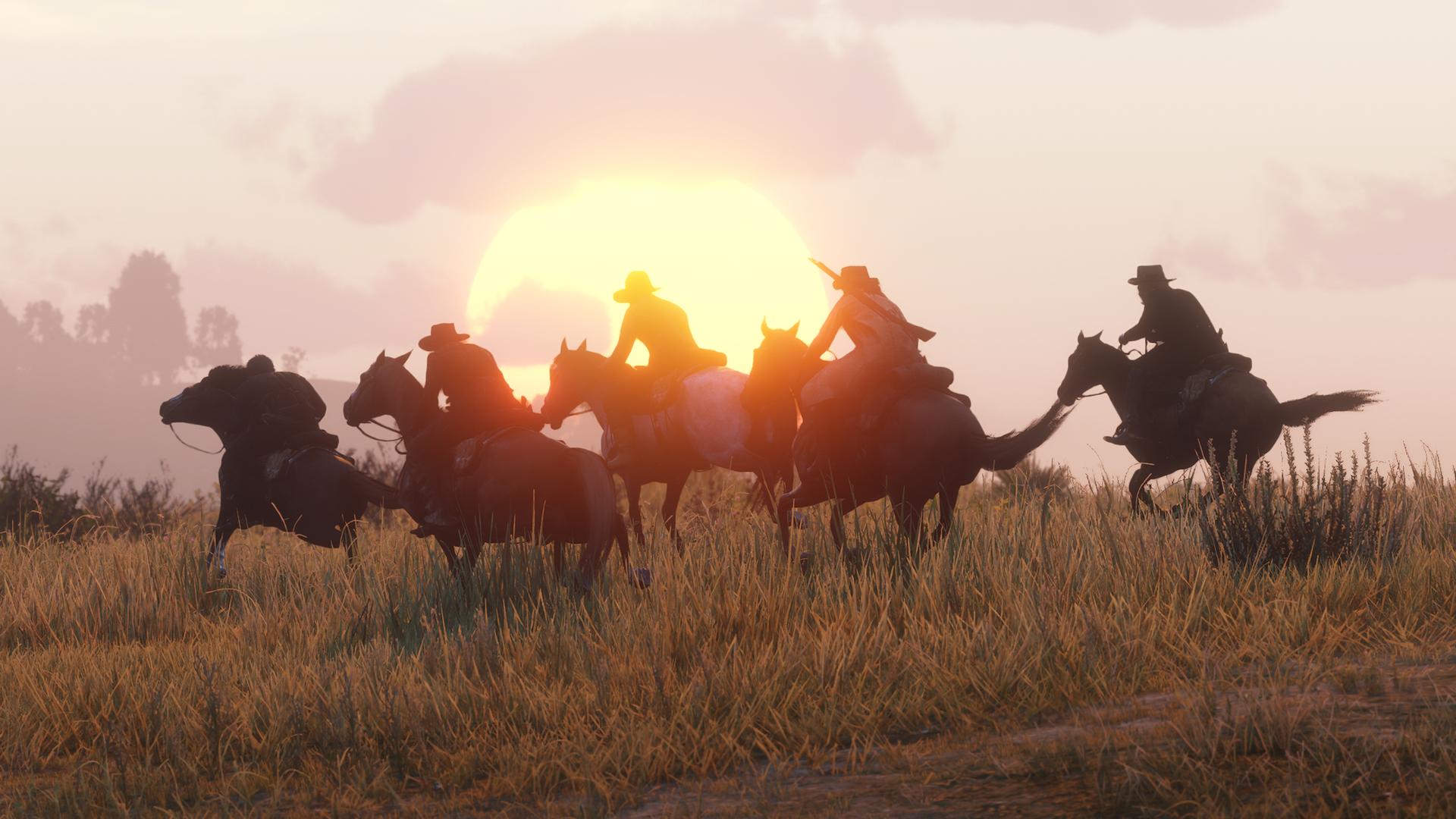 Red Dead Online won't reset progress after beta screenshot