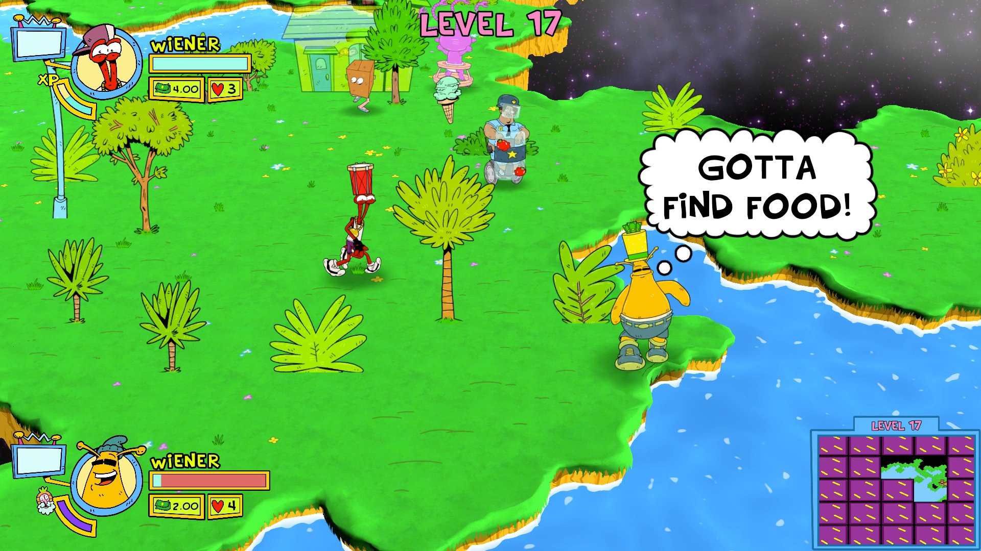 Next spring is gonna be super funky as ToeJam & Earl blasts off on March 1 screenshot