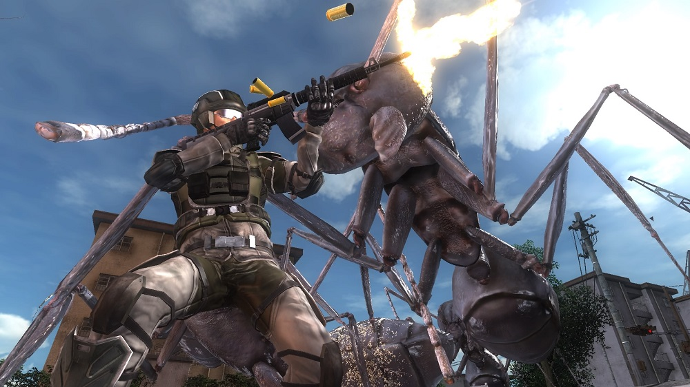 Review: Earth Defense Force 5 screenshot