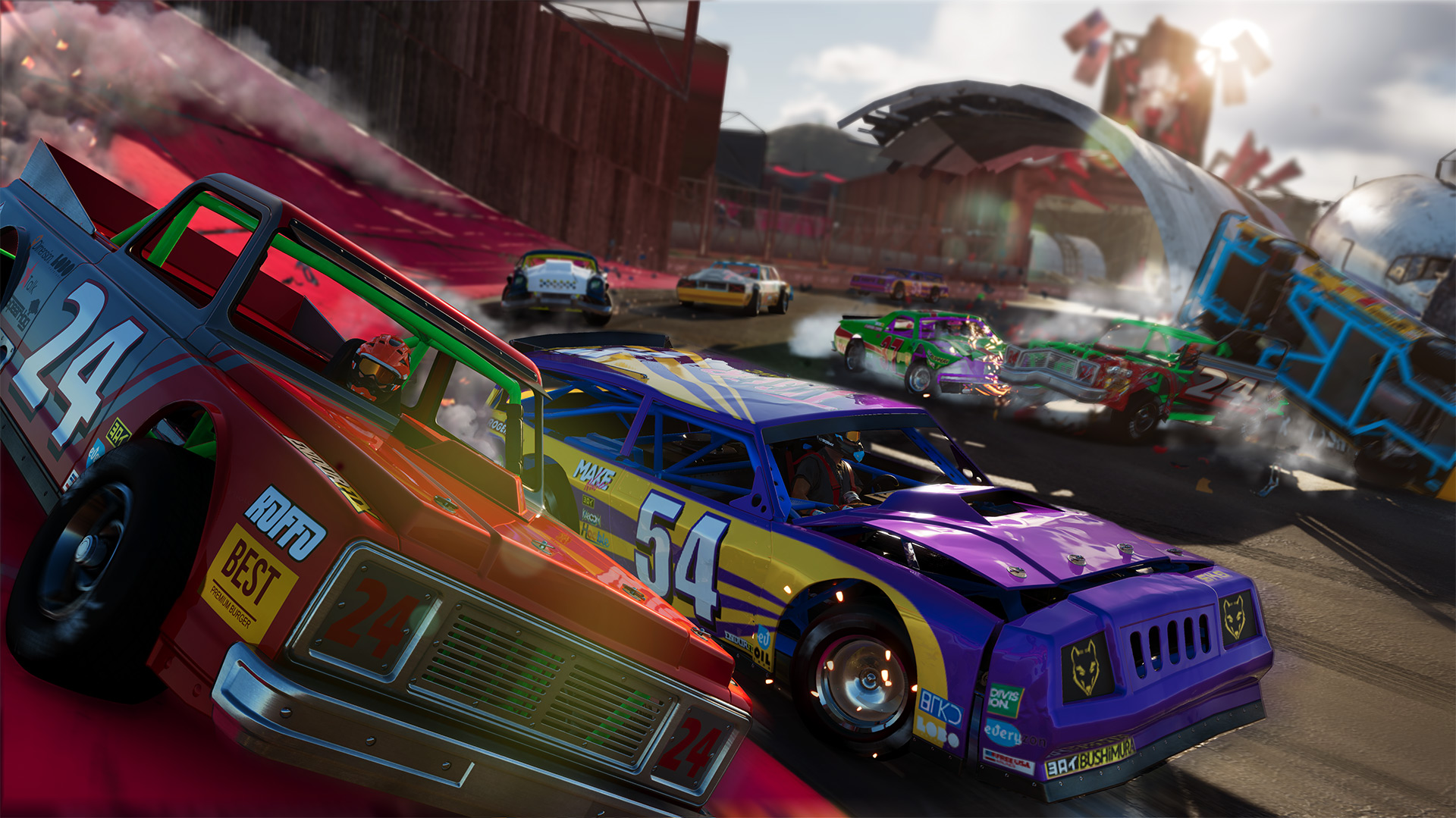 PvP and Demolition Derby give The Crew 2 a much-needed shot in the arm screenshot