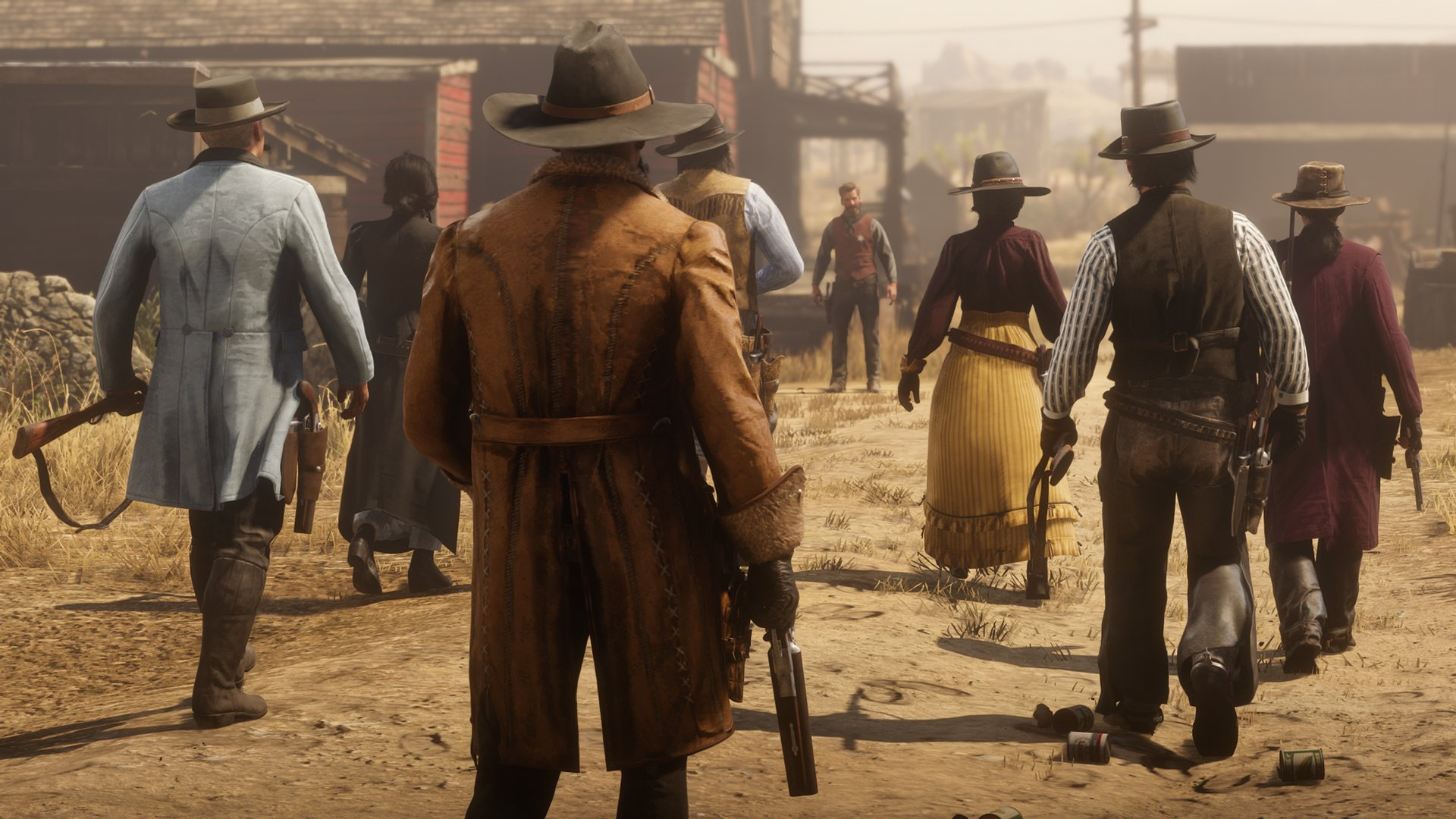 Rockstar shares details for Red Dead Online's first major economy update screenshot