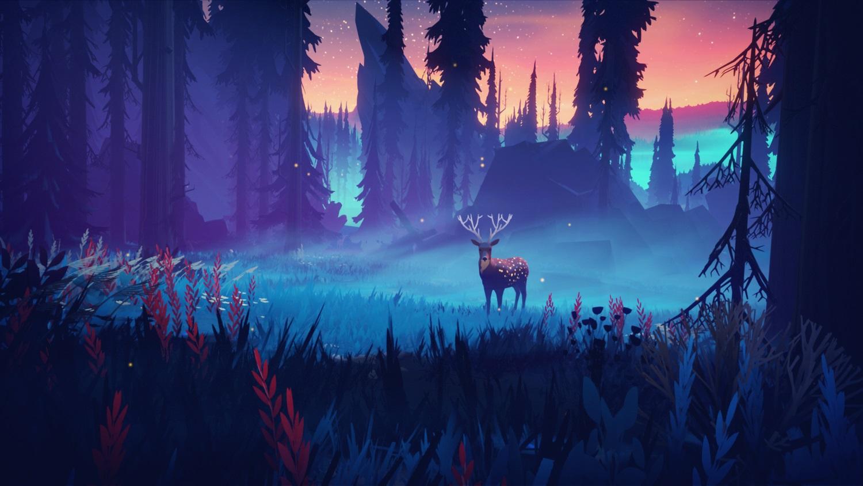 Among Trees promises a colorful survival sandbox screenshot