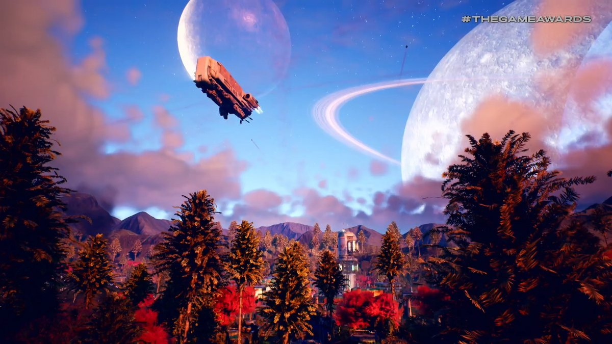 Here's your first look at Obsidian's new first-person RPG, The Outer Worlds screenshot