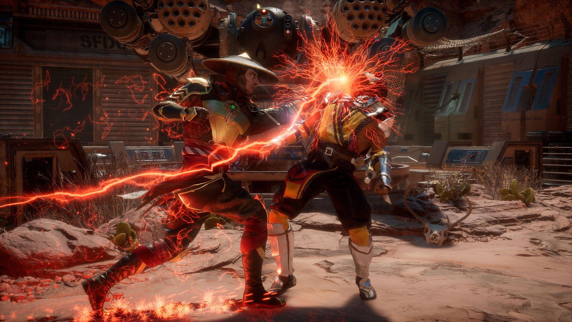 Oh hell yeah, Mortal Kombat 11 is all set for April screenshot