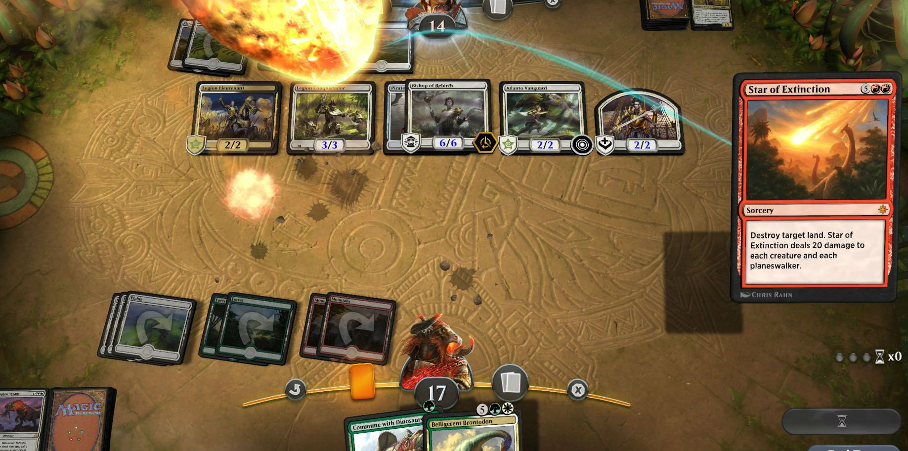 Grab a bunch of free Magic Arena cards with a new Game Awards promo screenshot