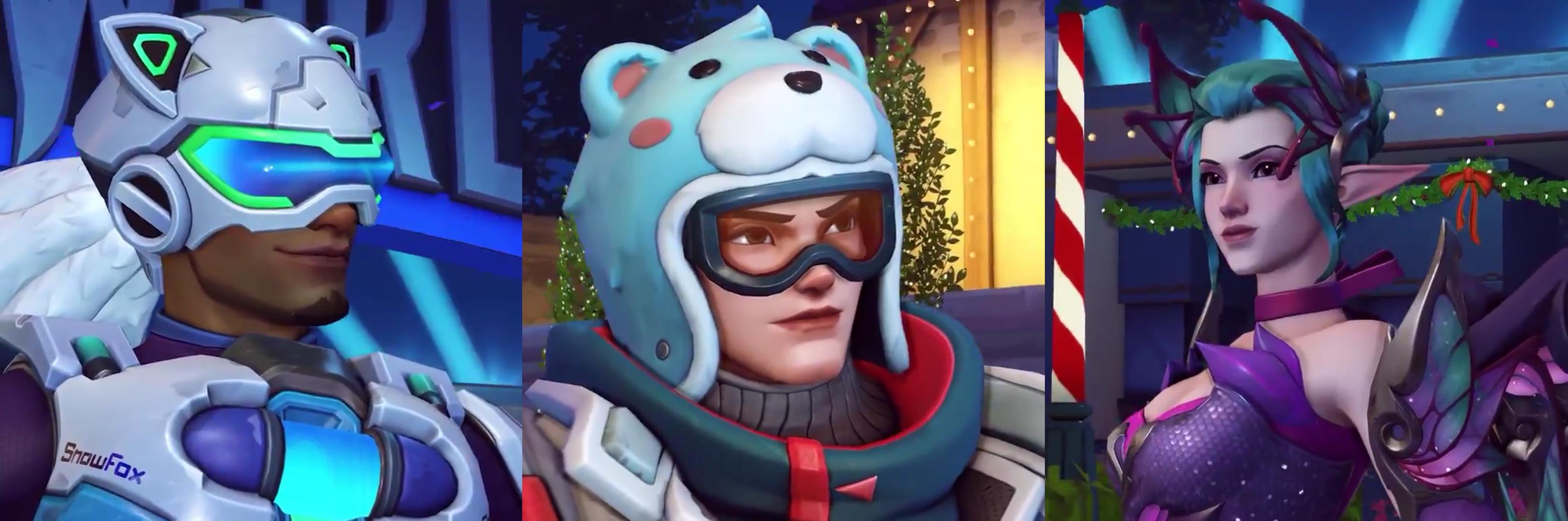 Overwatch shows off its Winter Wonderland skins screenshot