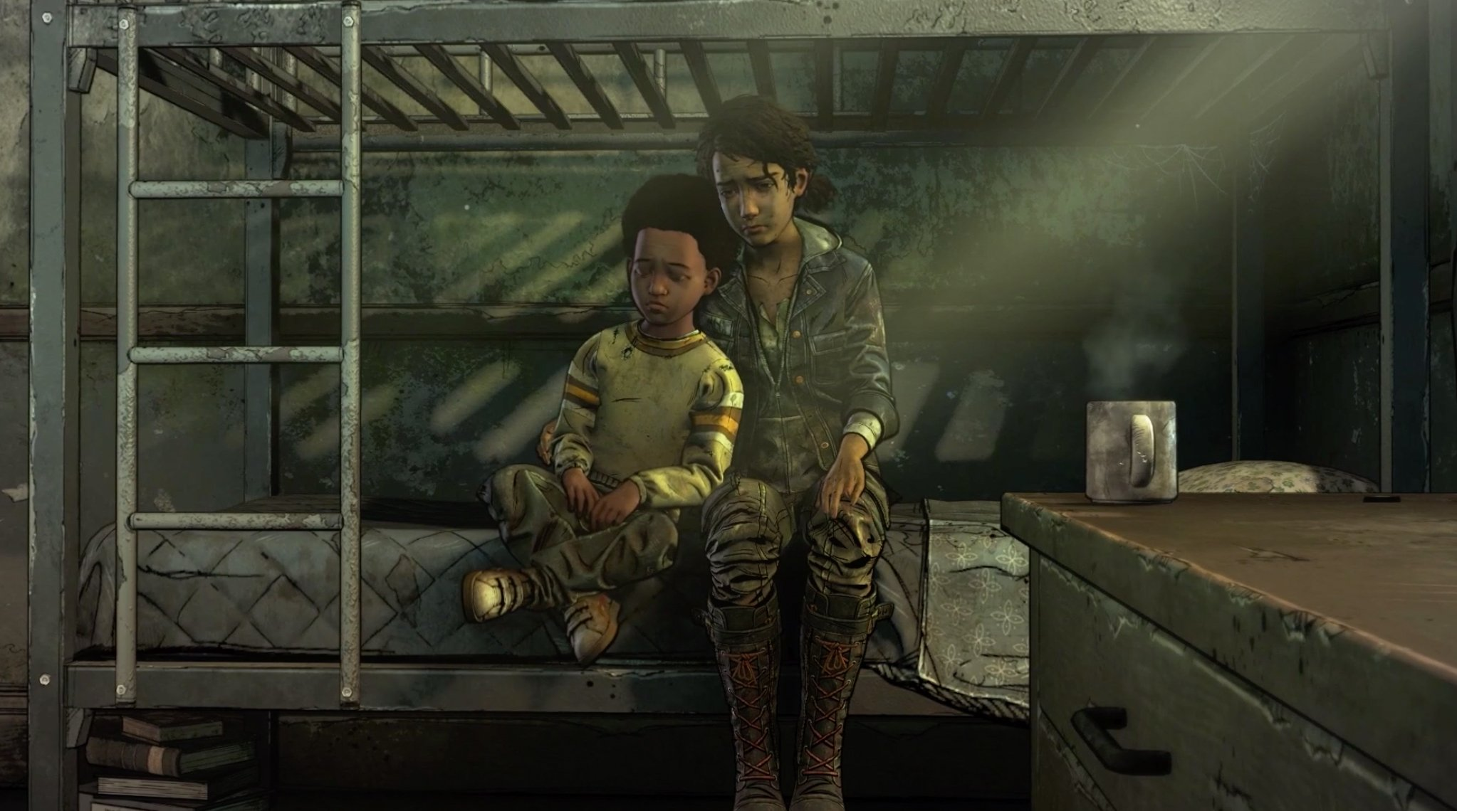 The final season of Telltale's The Walking Dead continues in January screenshot