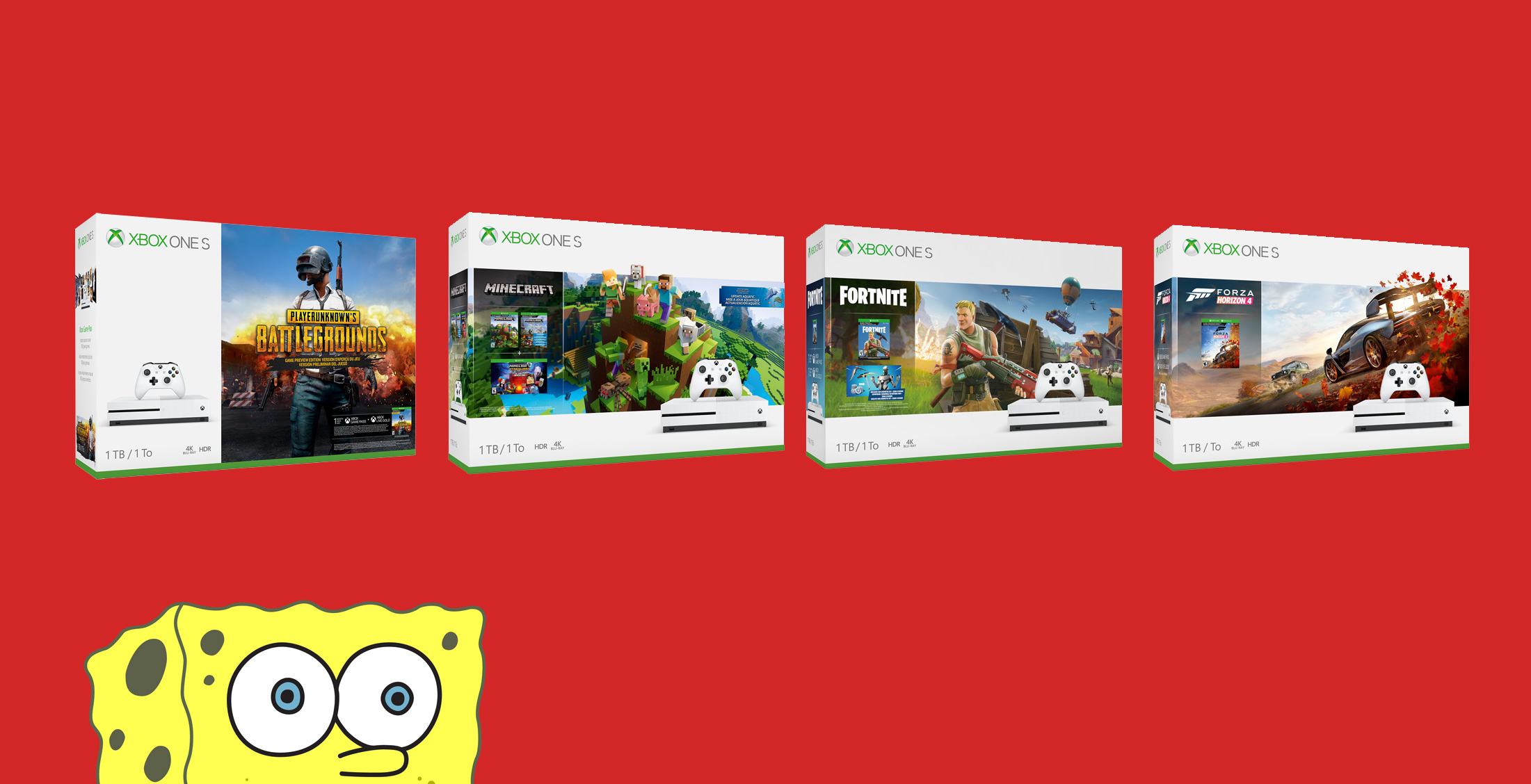 Deal: $199 Xbox One S bundles return for Christmas at Walmart screenshot