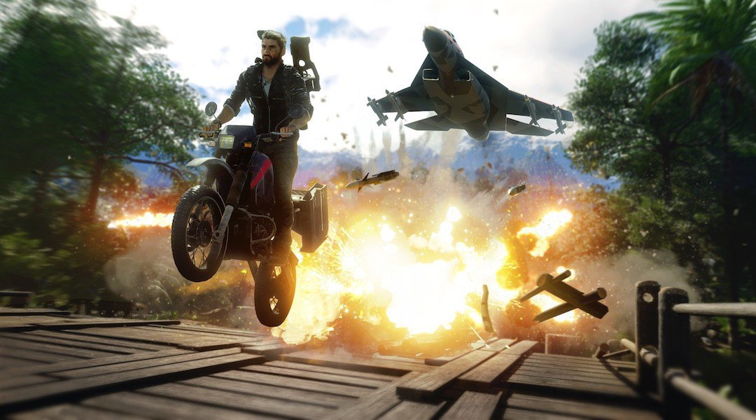 Just Cause 4 features a very cool '80s Easter Egg screenshot