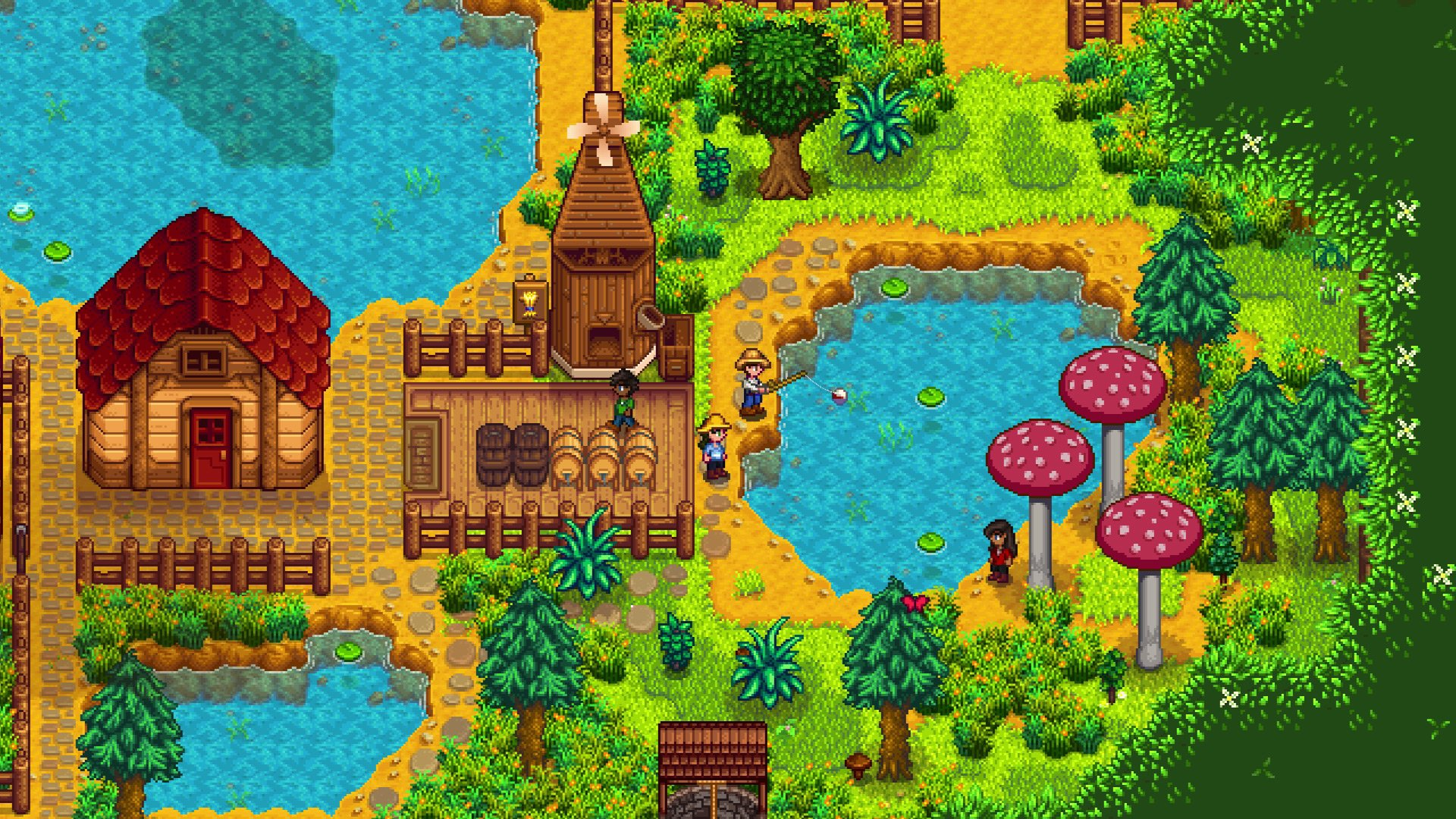 (Update) Stardew Valley multiplayer comes to Switch this week screenshot