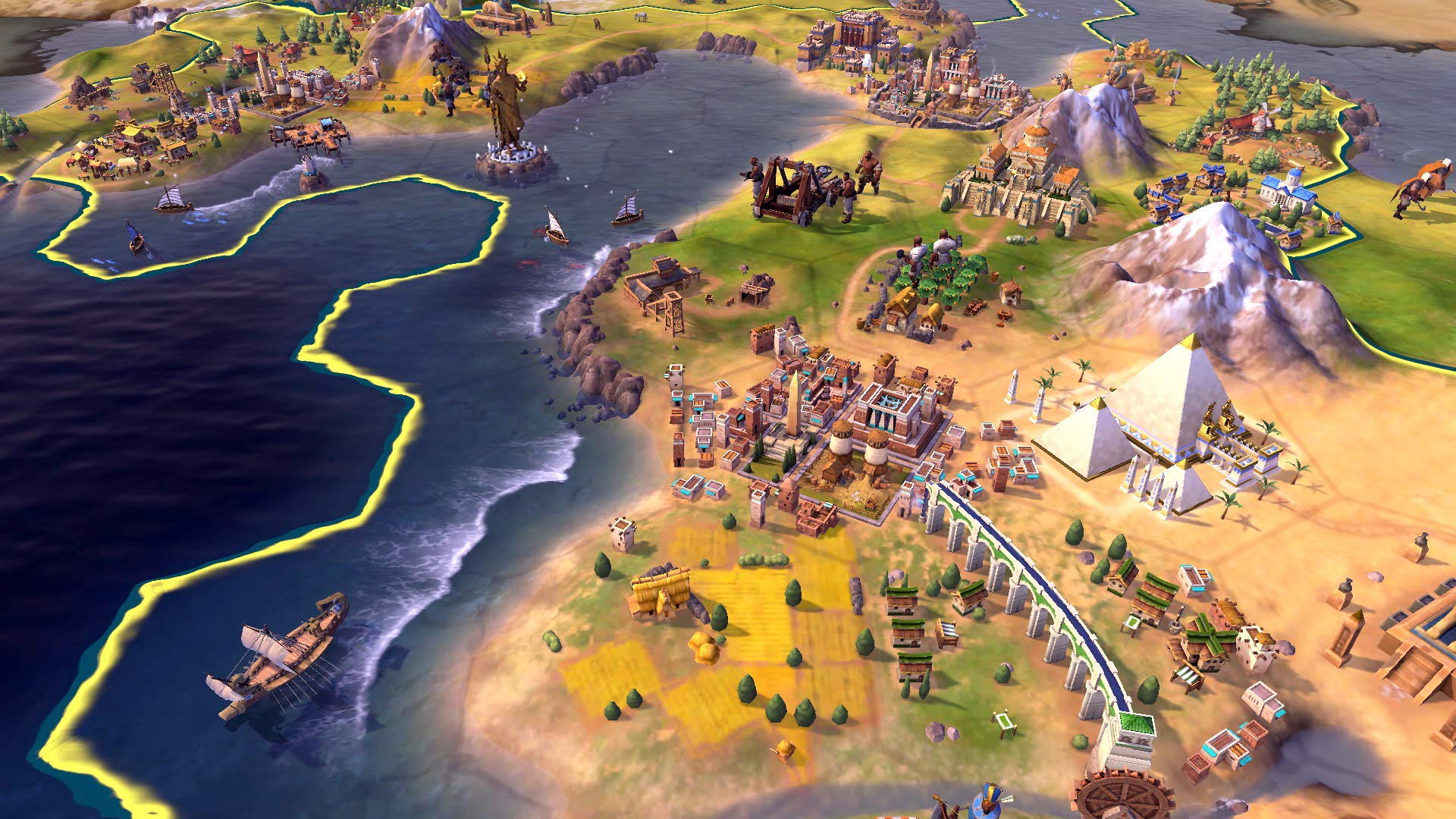 Civilization VI owners on iOS are getting nearly $40 in free goodies for Christmas