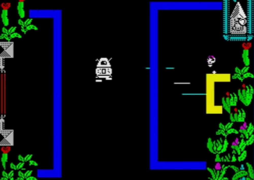 ZX Spectrum game Quadron releases 30 years after completion screenshot