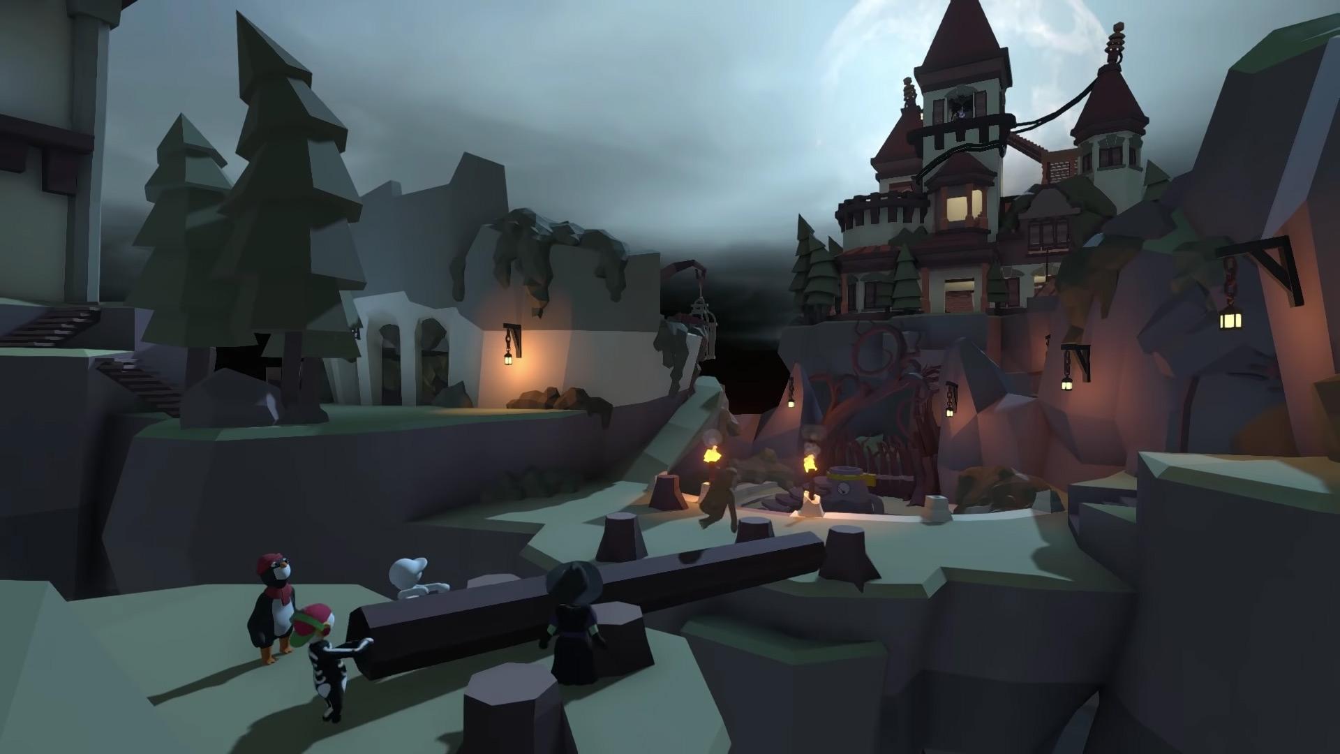 Silly physics platformer Human: Fall Flat has a new level screenshot