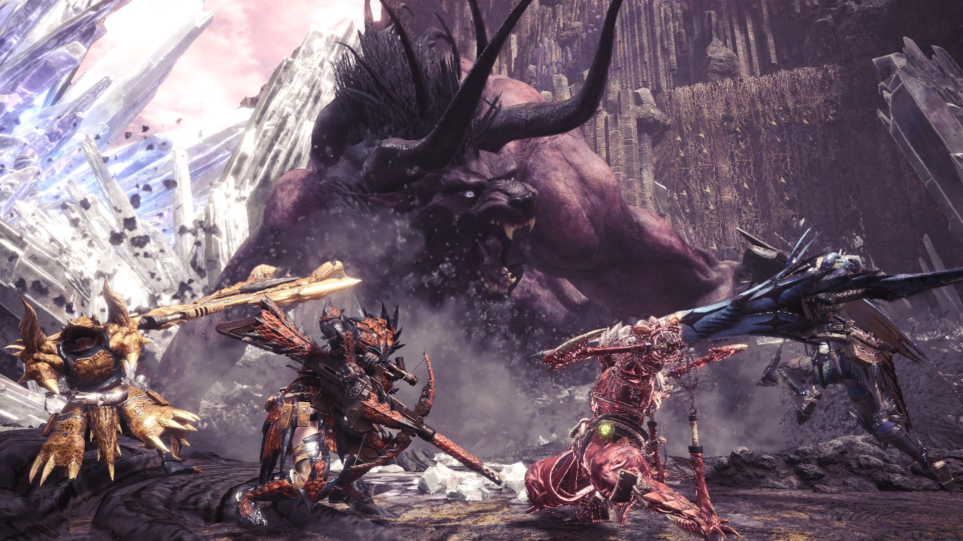 Monster Hunter: World's Iceborne expansion will have its own story screenshot
