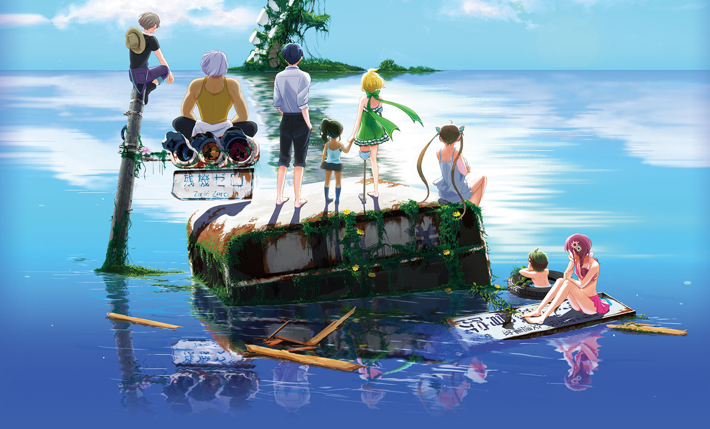 Spike Chunsoft sets survival RPG Zanki Zero: Last Beginning for March 2019 screenshot