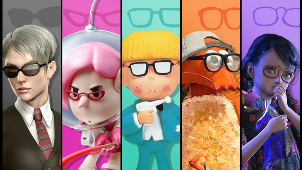 Super Smash Bros. Has an event this week all about characters with glasses screenshot