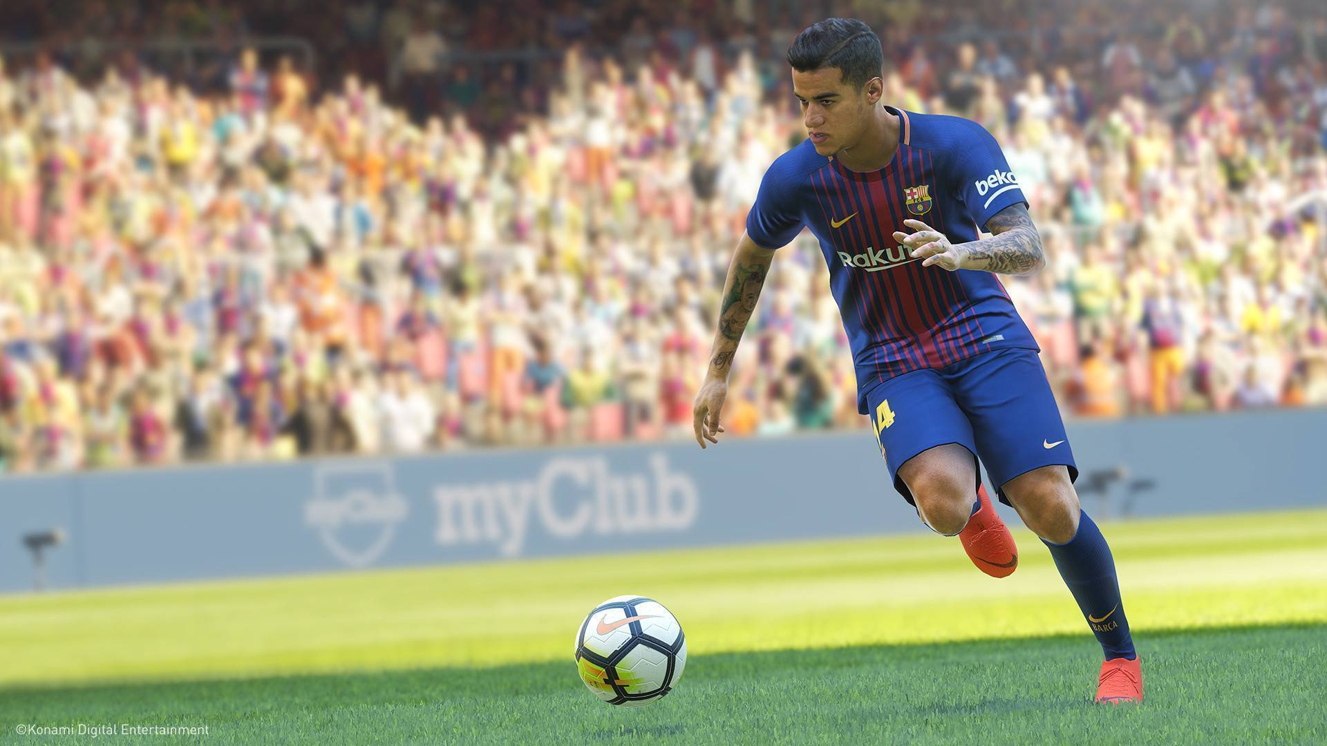 Konami releases a free version of PES 2019 screenshot