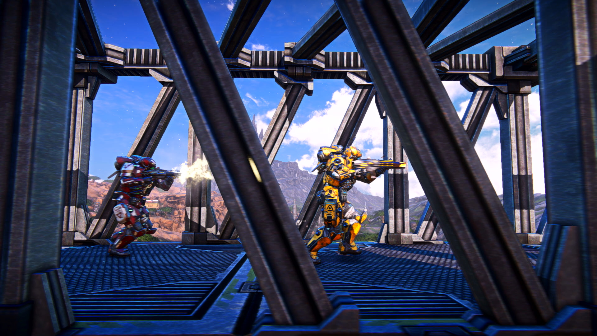 PlanetSide Arena will be the largest battle royale game around screenshot