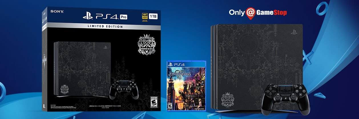 Kingdom Hearts III is getting a PS4 Pro bundle next month screenshot
