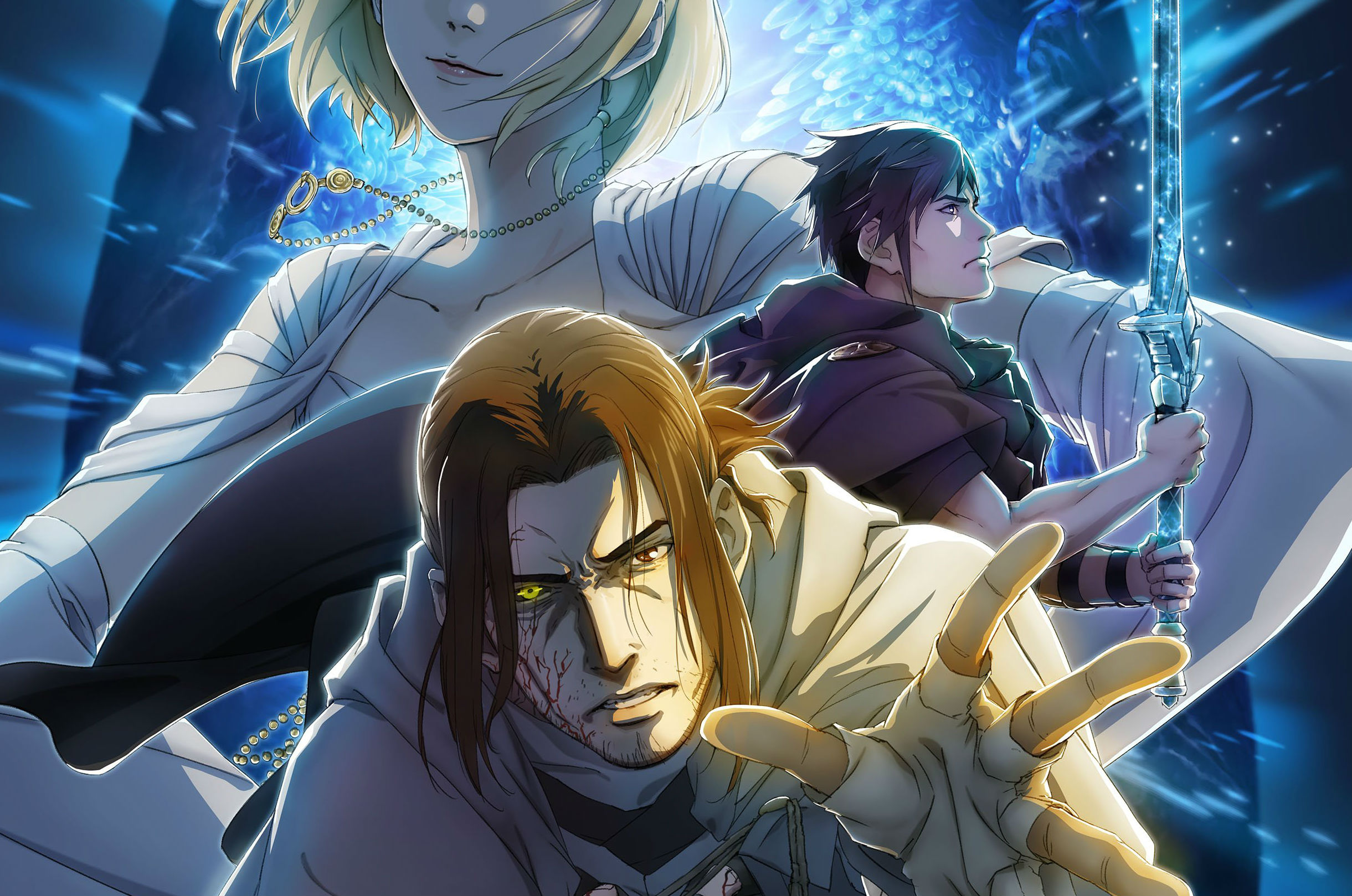 Final Fantasy XV's last DLC gets a killer piece of anime promo art screenshot