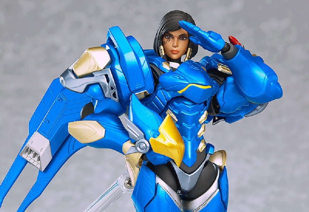 Plastic reigns from above with this ace Overwatch Pharah Figma screenshot