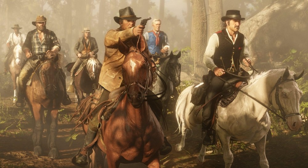 Red Dead Redemption 2 returns to the top of the UK Charts