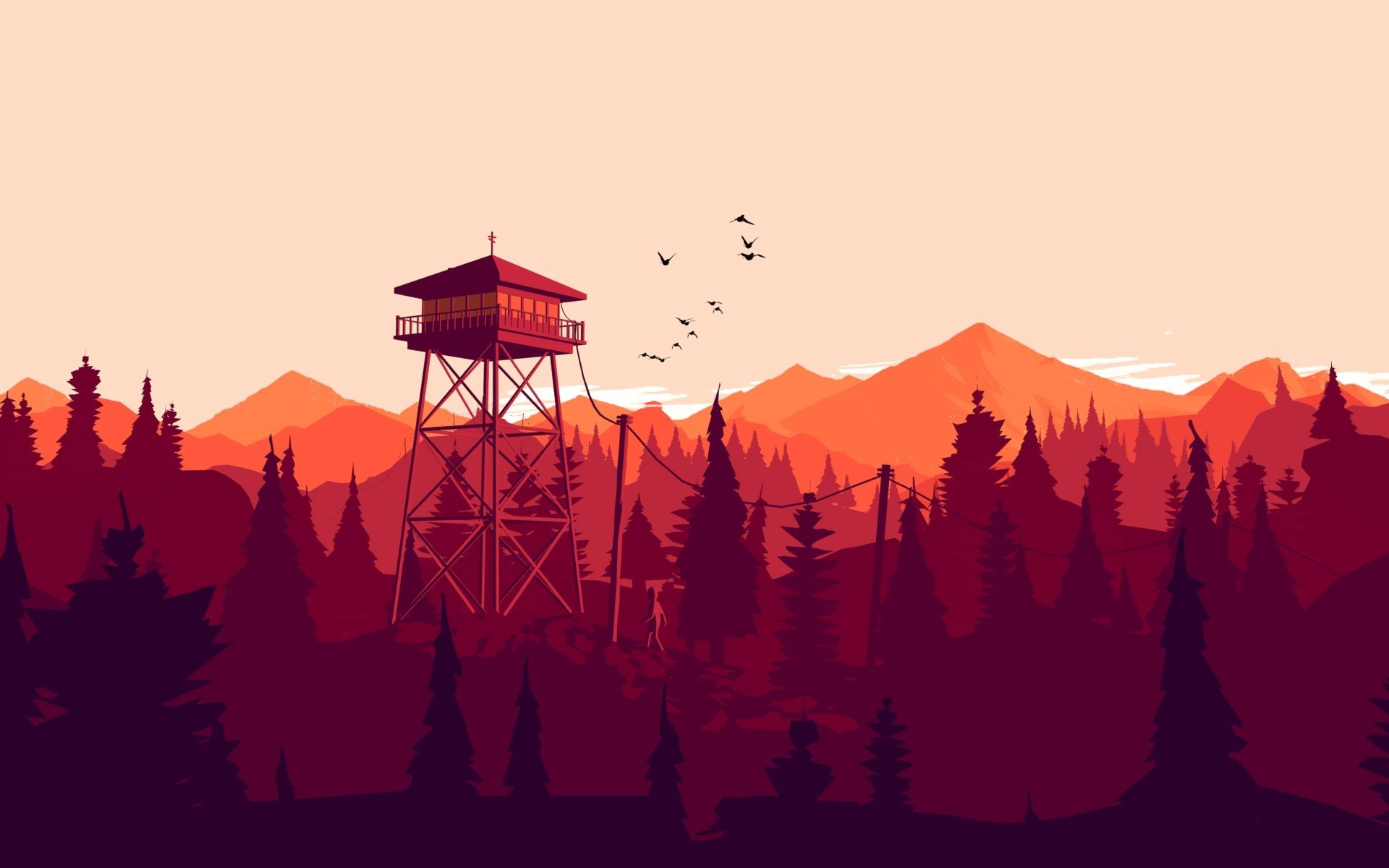 Firewatch flares up and spreads to Switch today