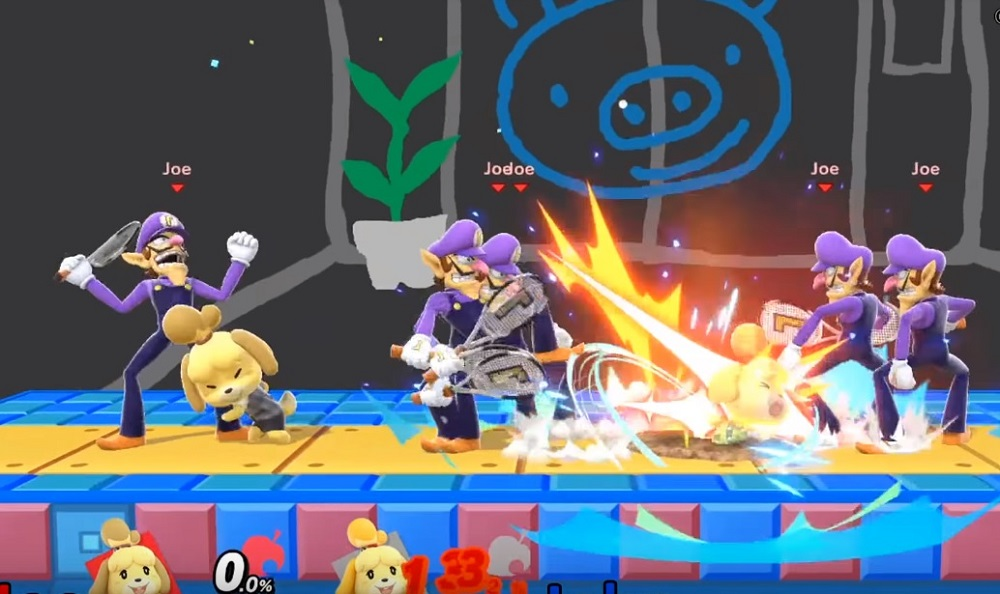 Isabelle's breaking of Super Smash Bros. Ultimate is amazing