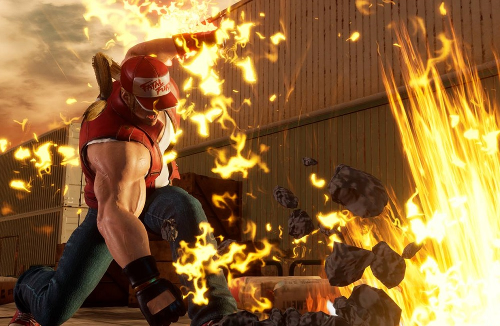 New Fighting EX Layer screens show off Sharon, Area and Terry Bogard