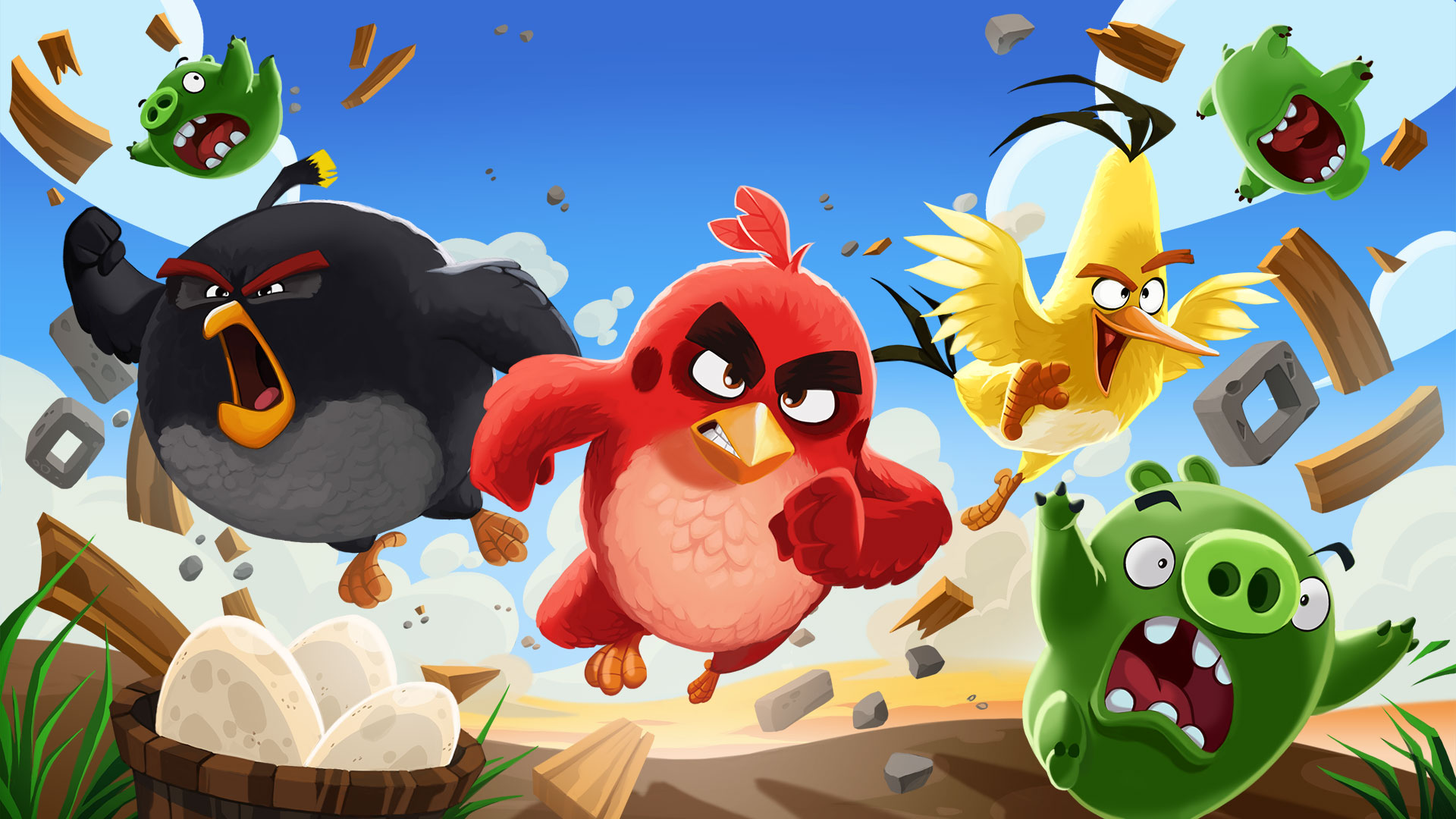 Angry Birds is getting a VR adaption early next year screenshot