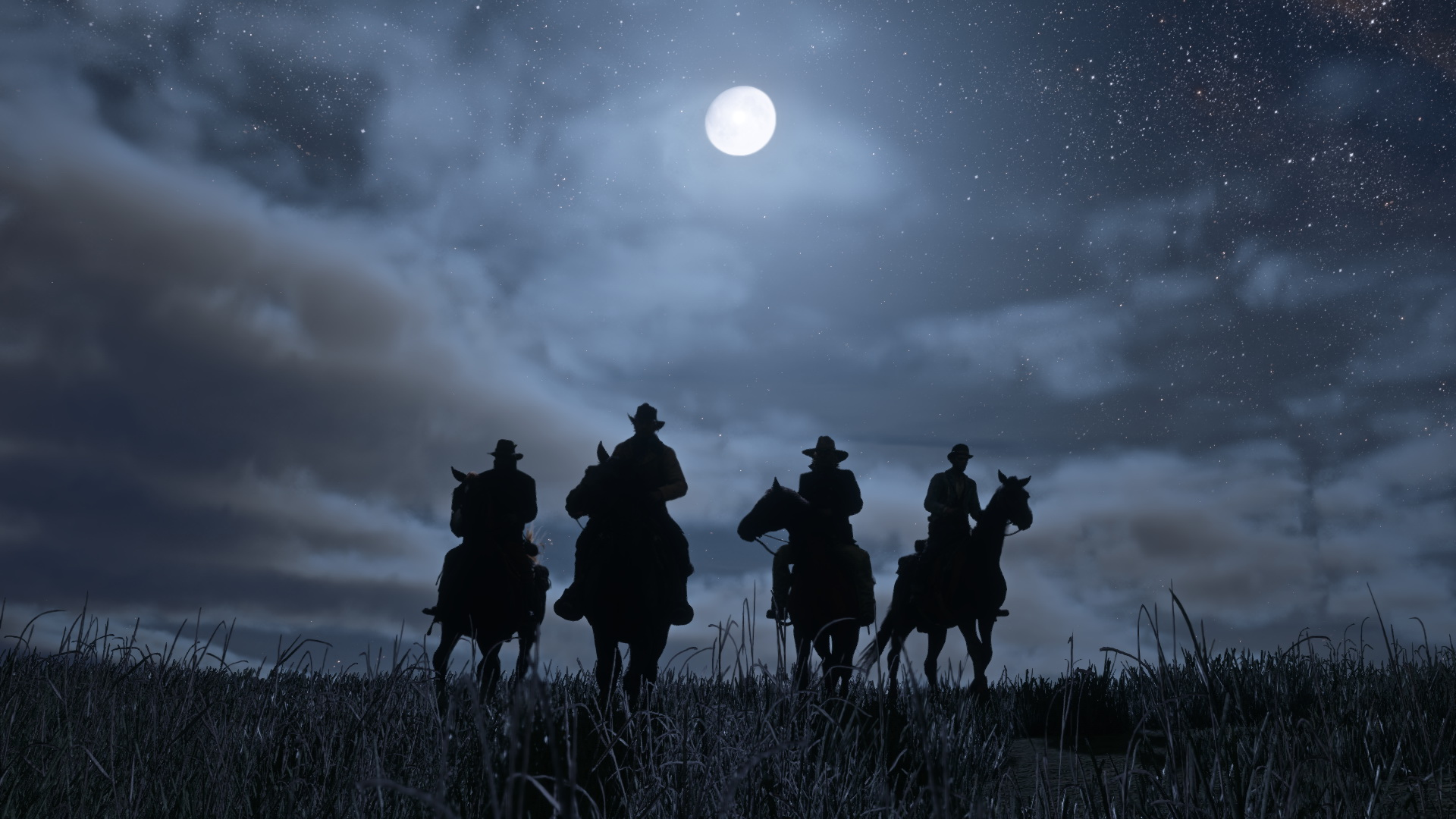 Is this footage of Red Dead Redemption 2 on PC? I don't know! screenshot