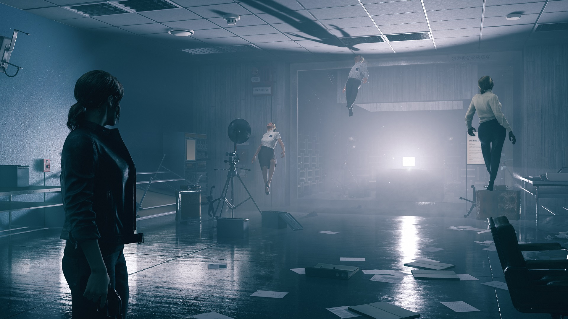 Remedy's Control takes place in one really weird house screenshot