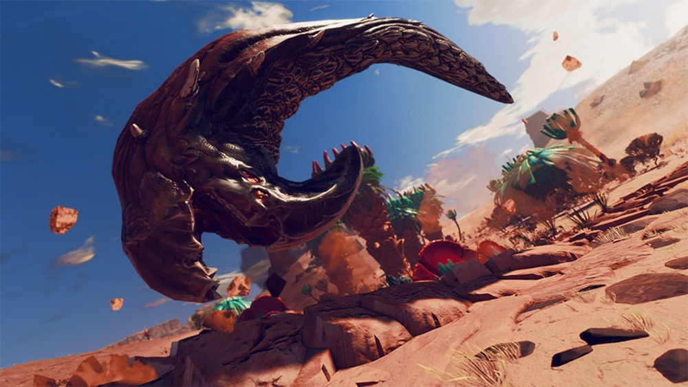Look out for sandworms and other new foes in Starlink: Battle for Atlas screenshot