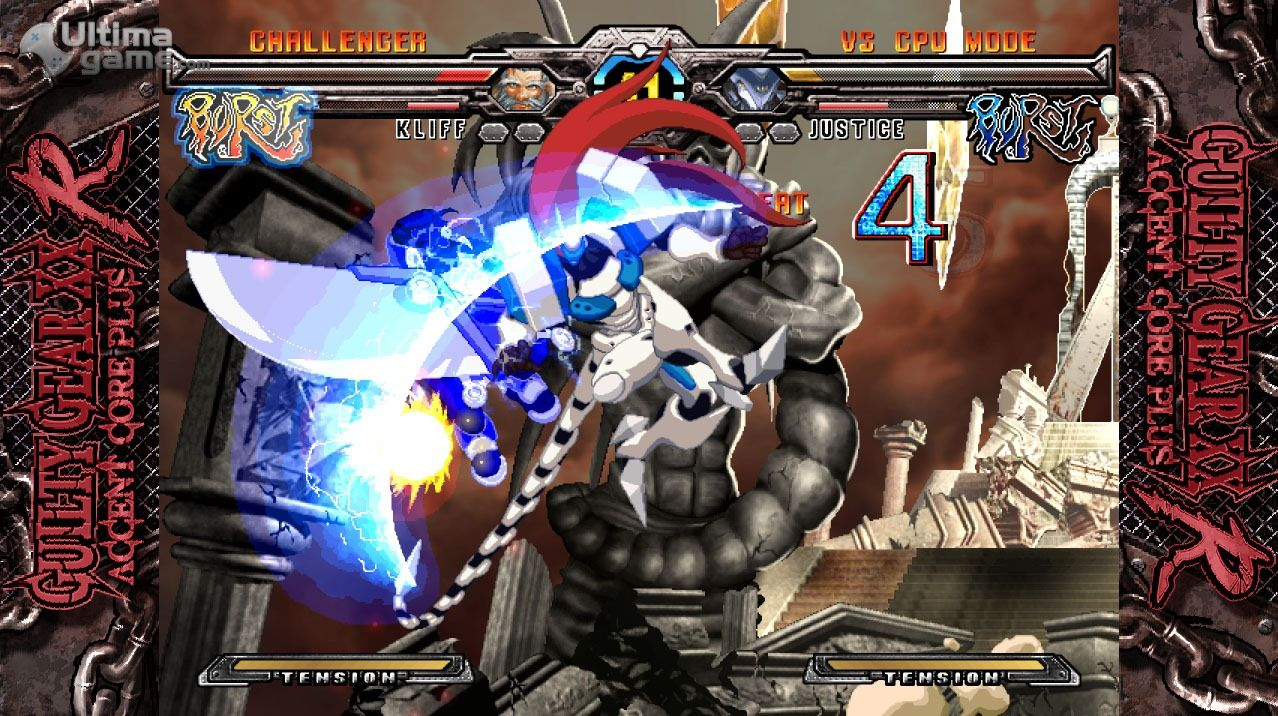 Guilty Gear XX Accent Core Plus R's Switch port has been delayed screenshot