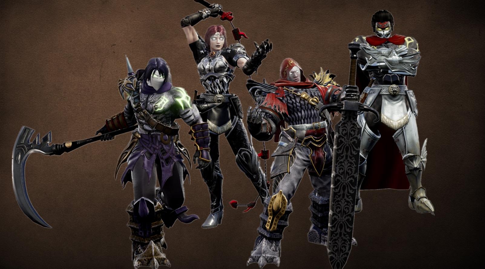 Someone made Darksiders' Four Horsemen in Soulcalibur VI screenshot
