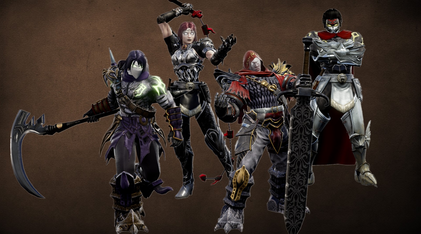 Someone made Darksiders' Four Horsemen in Soulcalibur VI