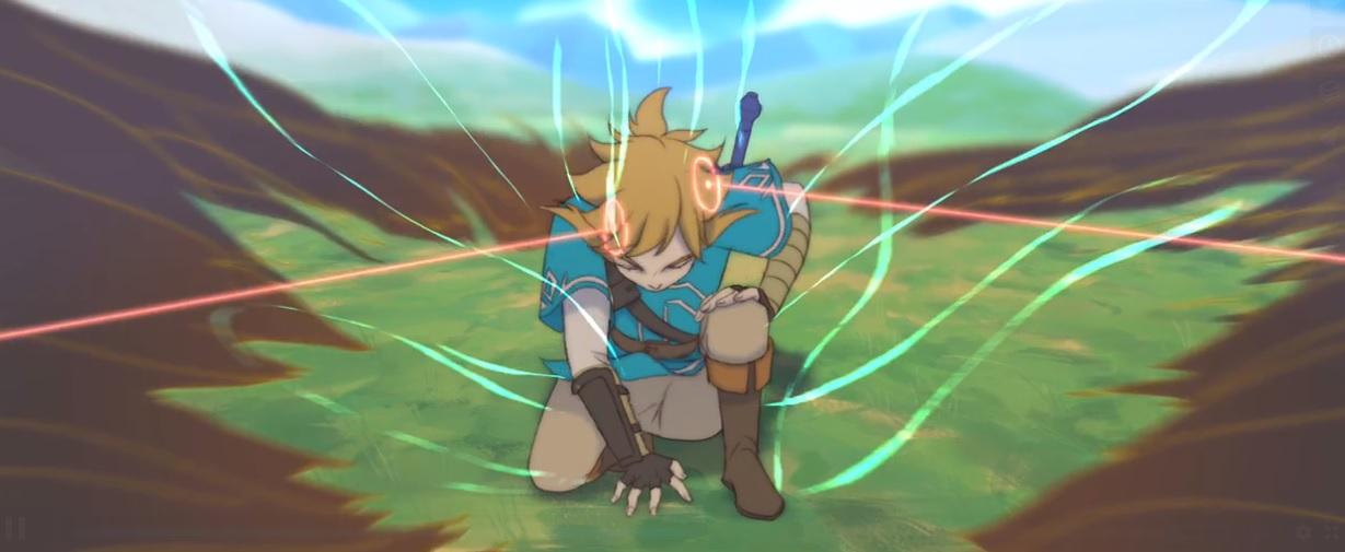 This professional grade Zelda fan animation looks like an official series screenshot