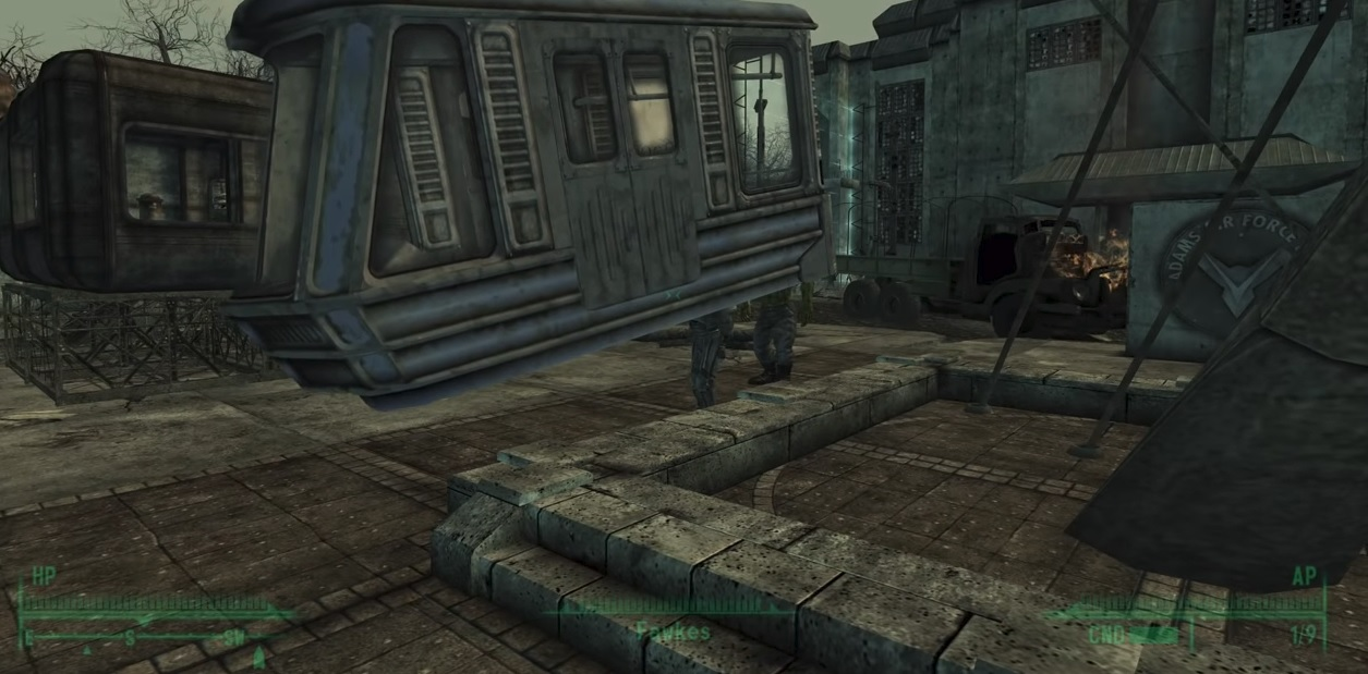 Watch all kinds of Fallout 3 oddities and Easter eggs screenshot