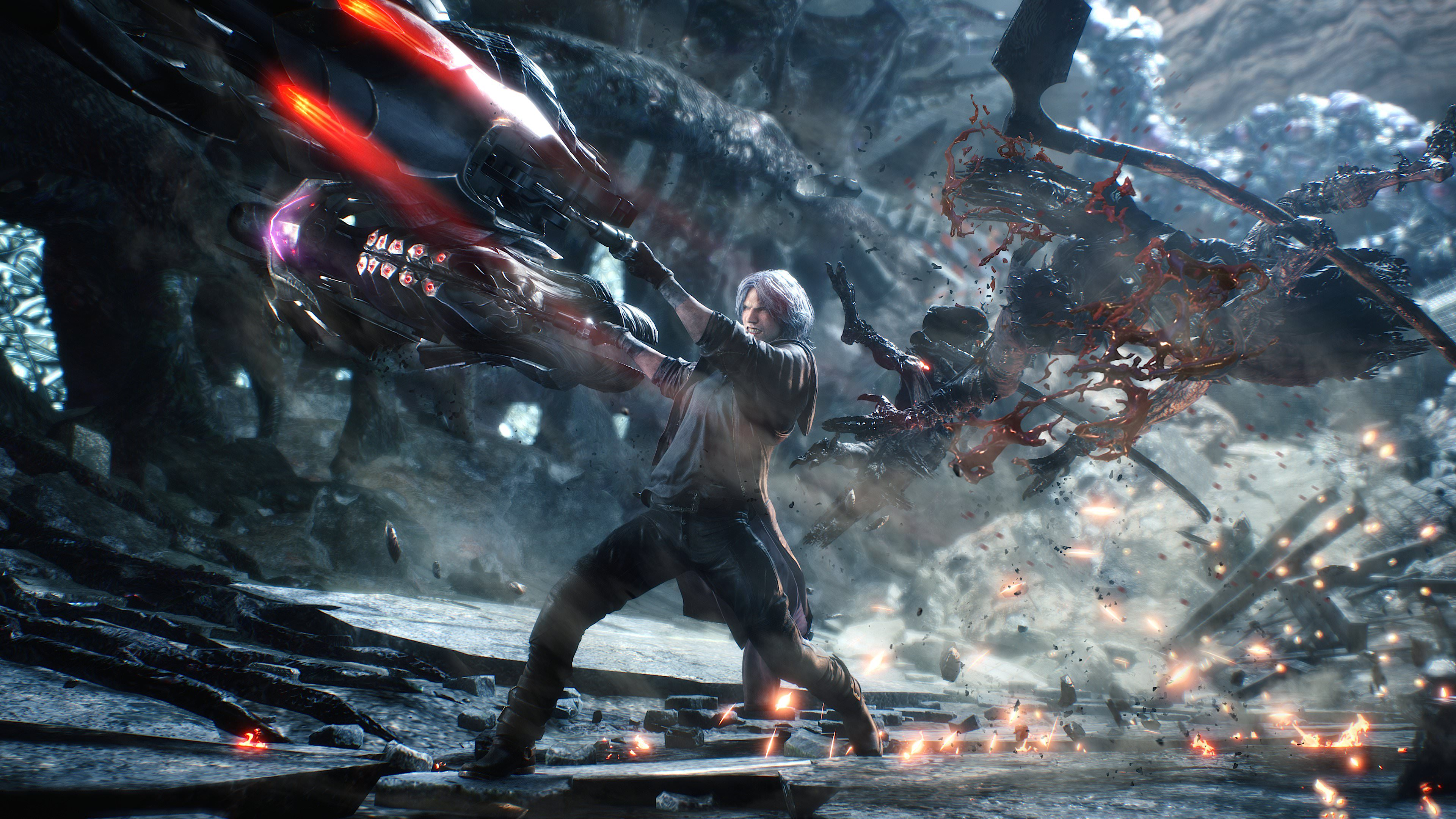 Devil May Cry 5 director says he is gearing up for his 'next title' after the first major update hits screenshot
