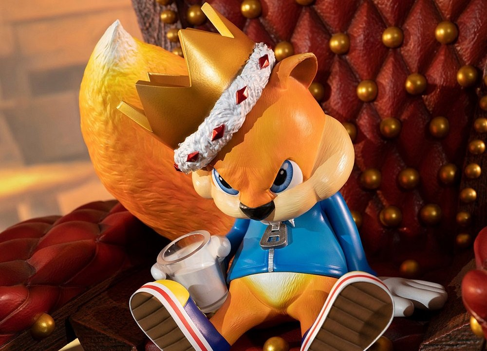 This surly Conker statue is available to pre-order for a regal price screenshot